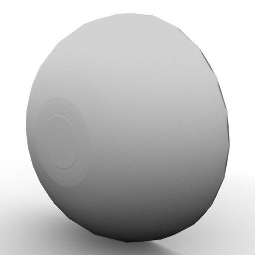 Cad 3D Free Model flos  glo_ball_w