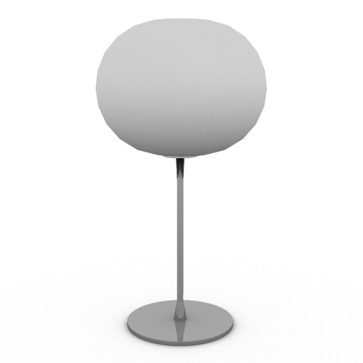 Cad 3D Free Model flos  glo_ballt1