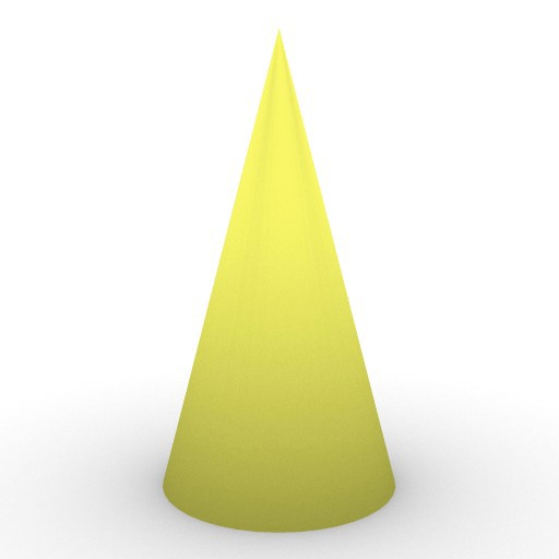 Cad 3D Free Model free Geometric-models  cone_1