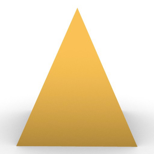 Cad 3D Free Model free Geometric-models  pyramid_1