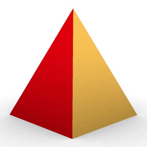 Cad 3D Free Model free Geometric-models  pyramid_2