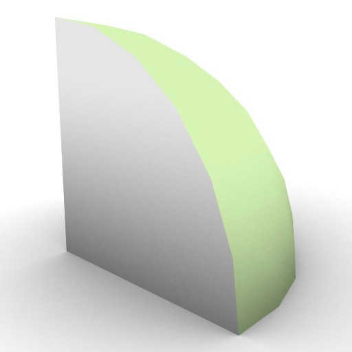 Cad 3D Free Model free Geometric-models  quarter_halfsphere