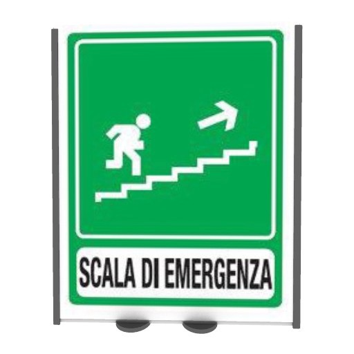 Cad 3D Free Model free Segnaletica  scale emergency_right
