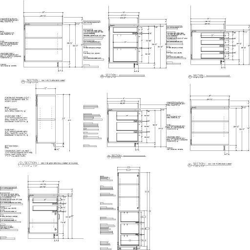 Cad 3D Free Model free Simboli_2d  cabinet
