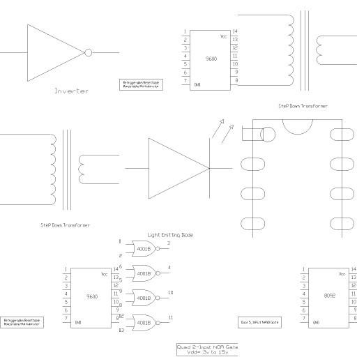 Cad 3D Free Model free Simboli_2d  electronics