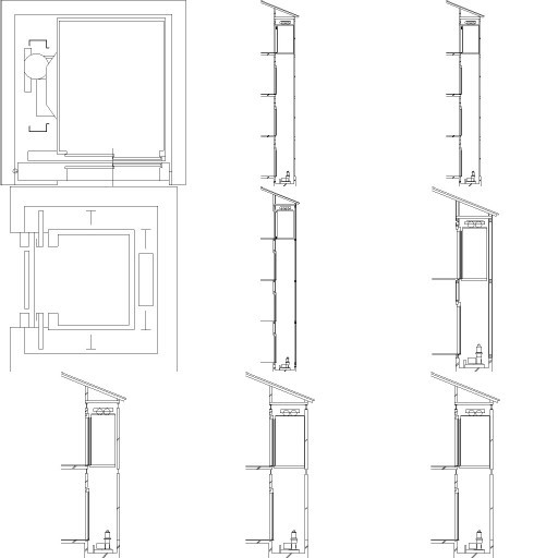 Cad 3D Free Model free Simboli_2d  lifts