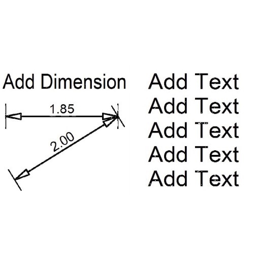 Cad 3D Free Model free Smart  7.dim&text