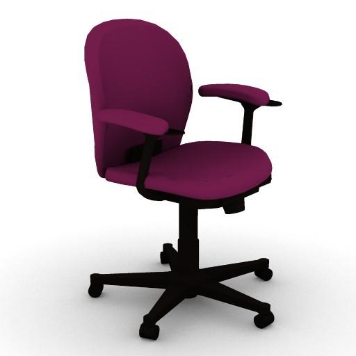 Cad 3D Free Model HermanMiller  ambi_work_chair