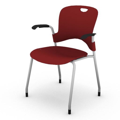 Cad 3D Free Model hermanmiller  caper_stacking_chair