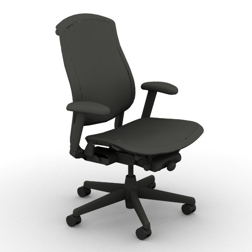 Cad 3D Free Model hermanmiller  cella_chair