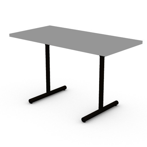 Cad 3D Free Model hermanmiller  clt_table_straight