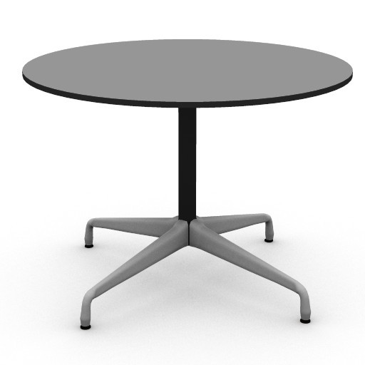 Cad 3D Free Model HermanMiller  eames_42inch_round_table