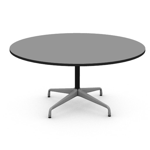 Cad 3D Free Model hermanmiller  eames_60inch_round_table
