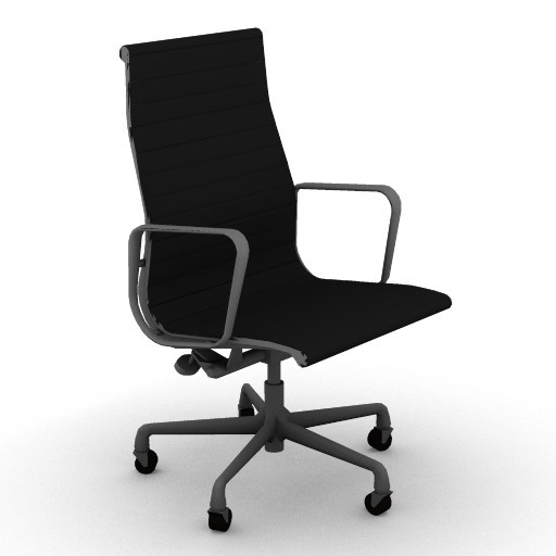 Cad 3D Free Model HermanMiller  eames_aluminum_executive_chair