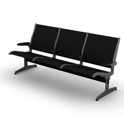Cad 3D Free Model HermanMiller  eames_tandem_sling
