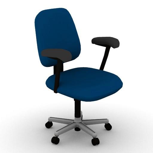 Cad 3D Free Model HermanMiller  ergon3_work_chair_3d