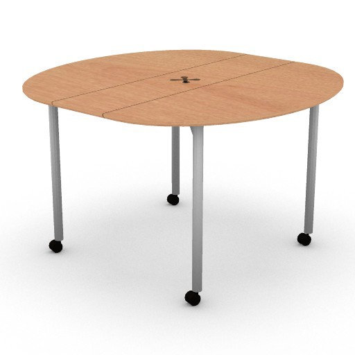 Cad 3D Free Model hermanmiller  intersect_portfolio_round_table