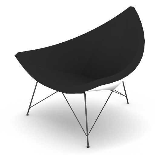 Cad 3D Free Model HermanMiller  nelson_coconut_chair