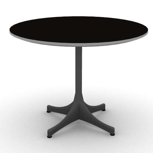 Cad 3D Free Model hermanmiller  nelson_end_table