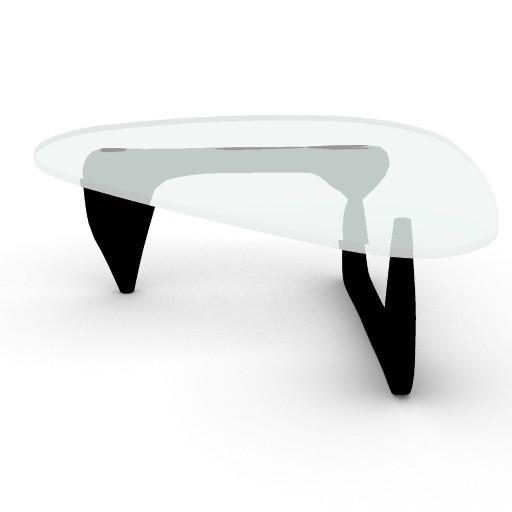 Cad 3D Free Model HermanMiller  noguchi_table