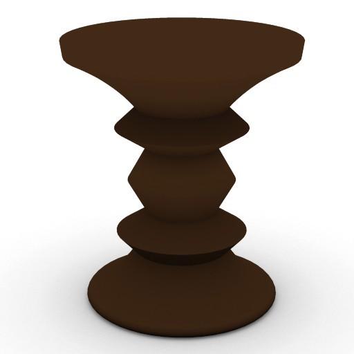 Cad 3D Free Model HermanMiller  table_wood