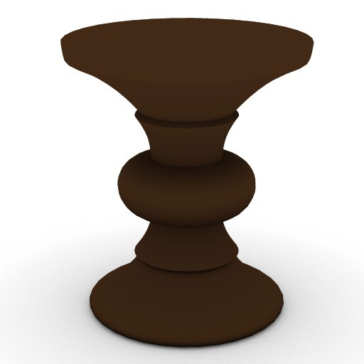 Cad 3D Free Model HermanMiller  table_wood_2