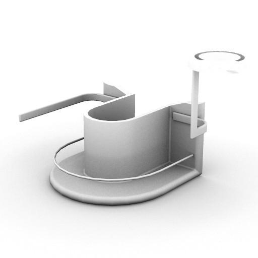 Cad 3D Free Model idealstandard Accessori  incaaso_portasapone