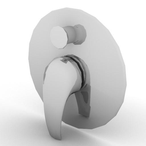 Cad 3D Free Model idealstandard Accessori  mix_doccia
