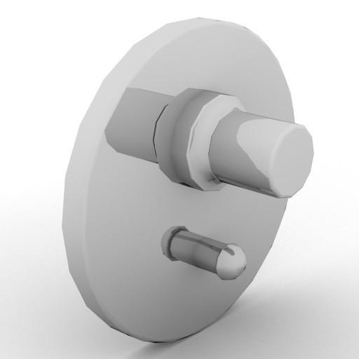 Cad 3D Free Model idealstandard Accessori  mix_doccia2