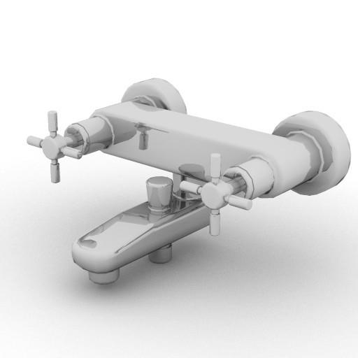 Cad 3D Free Model idealstandard Accessori  mix_vasca2