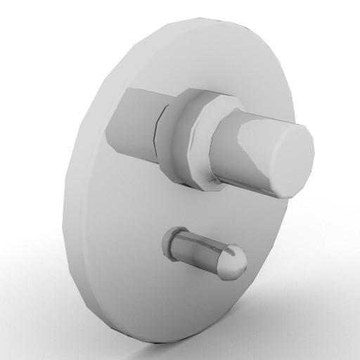Cad 3D Free Model idealstandard Accessori  mix_vasca4
