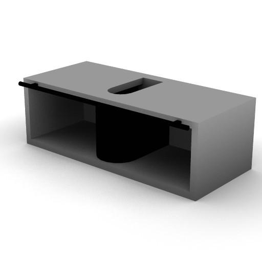 Cad 3D Free Model idealstandard Accessori  mobile_rettangolare