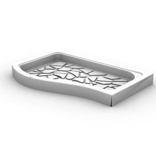 Cad 3D Free Model idealstandard Docce  fabula_doccia1200sagom