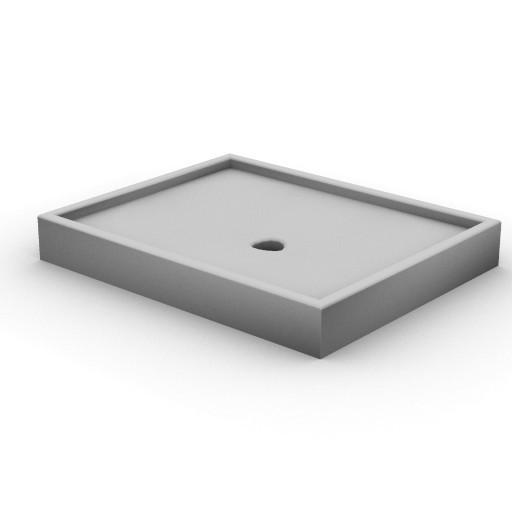 Cad 3D Free Model idealstandard Docce  fabula_doccia_rettang