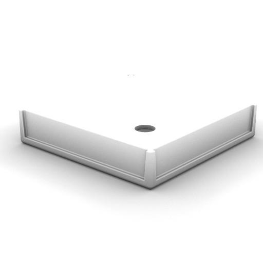 Cad 3D Free Model idealstandard Docce  piatto_doccia800x800_2