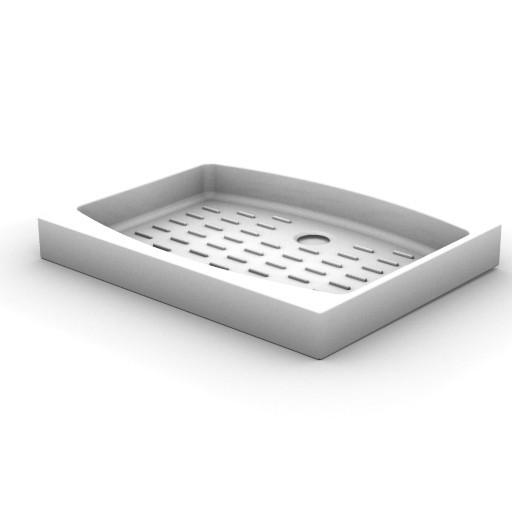 Cad 3D Free Model idealstandard Docce  piatto_doccia900x700