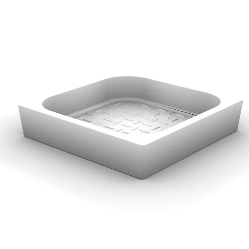 Cad 3D Free Model idealstandard Docce  piatto_doccia_quadr