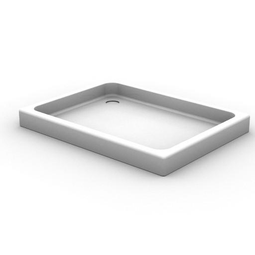 Cad 3D Free Model idealstandard Docce  piatto_doccia_rett2
