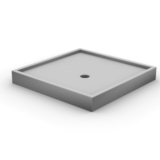 Cad 3D Free Model idealstandard Docce  tonic_doccia1x1