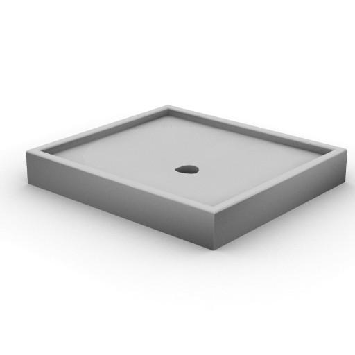 Cad 3D Free Model idealstandard Docce  tonic_doccia80x90