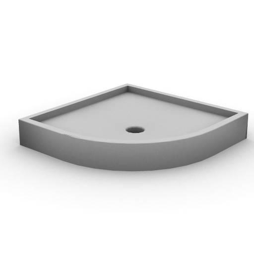 Cad 3D Free Model idealstandard Docce  tonic_doccia_angolo80