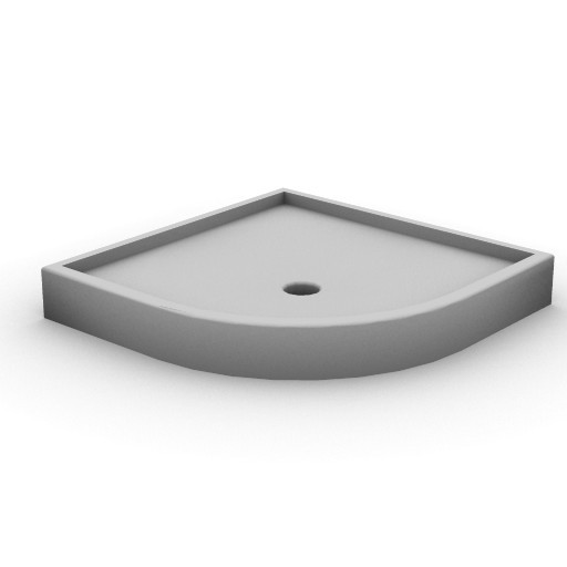 Cad 3D Free Model idealstandard Docce  tonic_piatto_angolo90x90