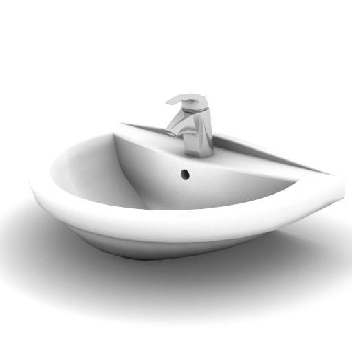 Cad 3D Free Model idealstandard Lavabi  ala_lavabo