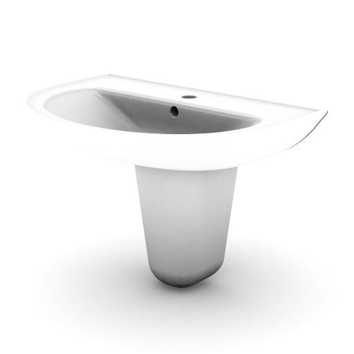 Cad 3D Free Model idealstandard Lavabi  gemma_v1449