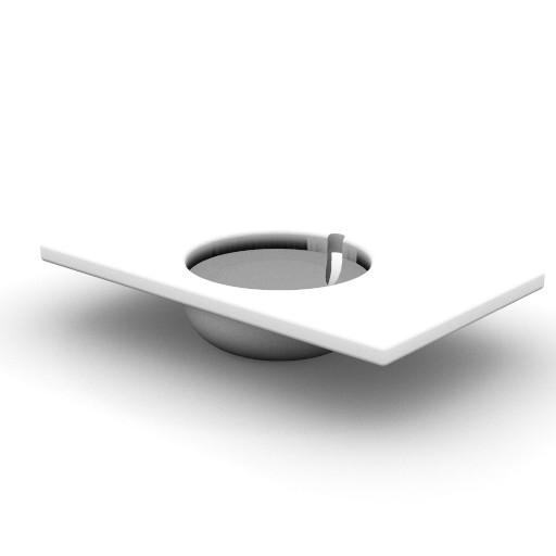 Cad 3D Free Model idealstandard Lavabi  sadler_t0814