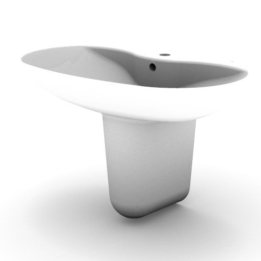 Cad 3D Free Model idealstandard Lavabi  xl_t0739