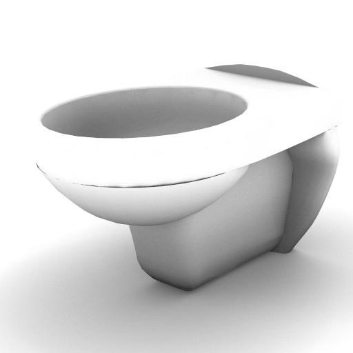Cad 3D Free Model idealstandard Sanitari  ala_vaso
