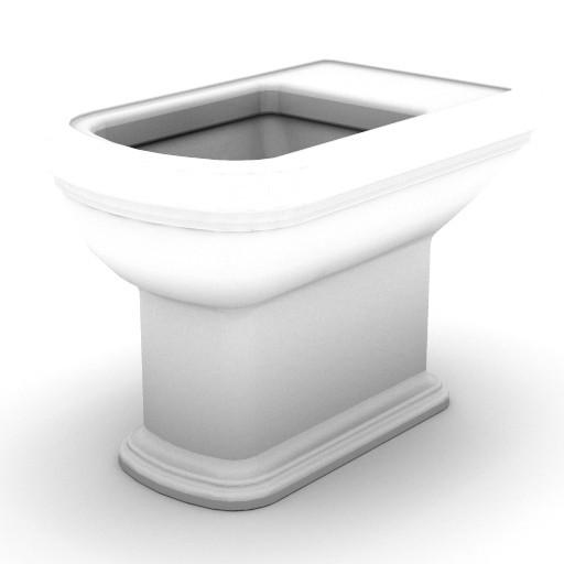 Cad 3D Free Model idealstandard Sanitari  calla_vaso