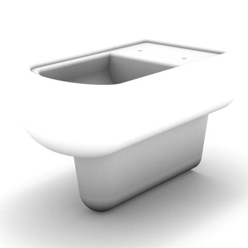 Cad 3D Free Model idealstandard Sanitari  calla_vaso_sosp