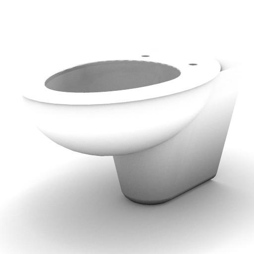 Cad 3D Free Model idealstandard Sanitari  celia_vaso